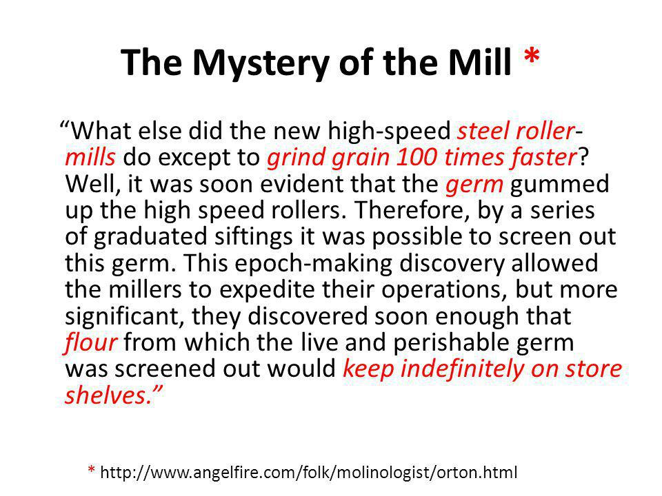 The Mystery of the Mill *