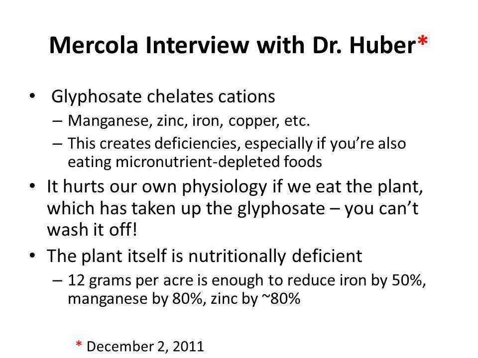 Mercola Interview with Dr. Huber*