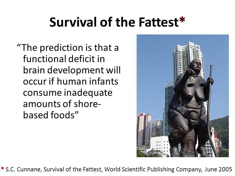 Survival of the Fattest*