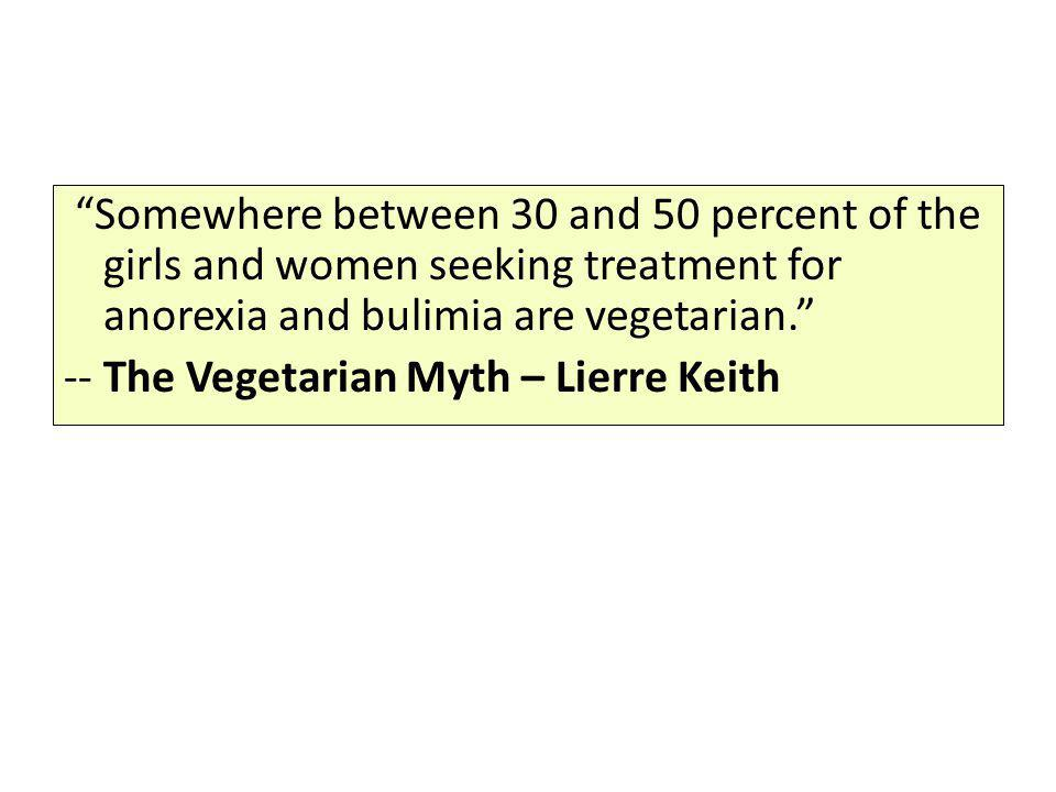 -- The Vegetarian Myth – Lierre Keith