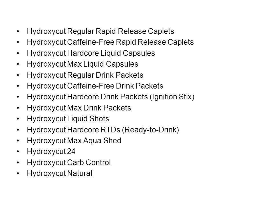 Hydroxycut Regular Rapid Release Caplets