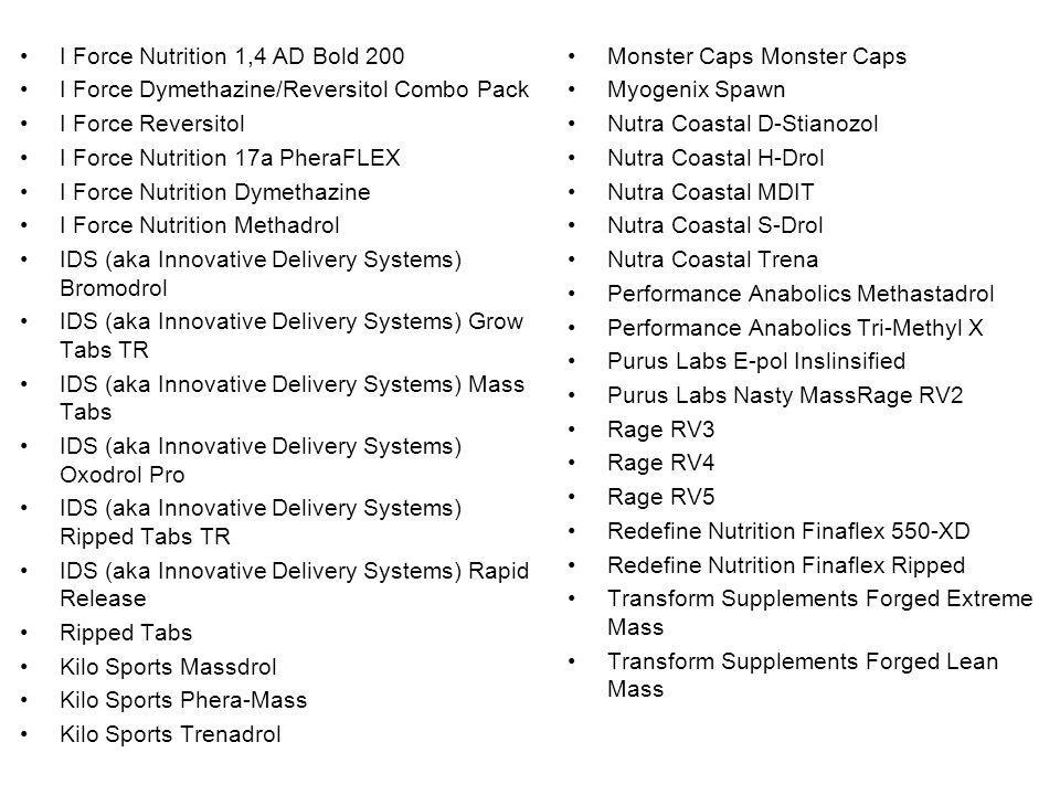 I Force Nutrition 1,4 AD Bold 200