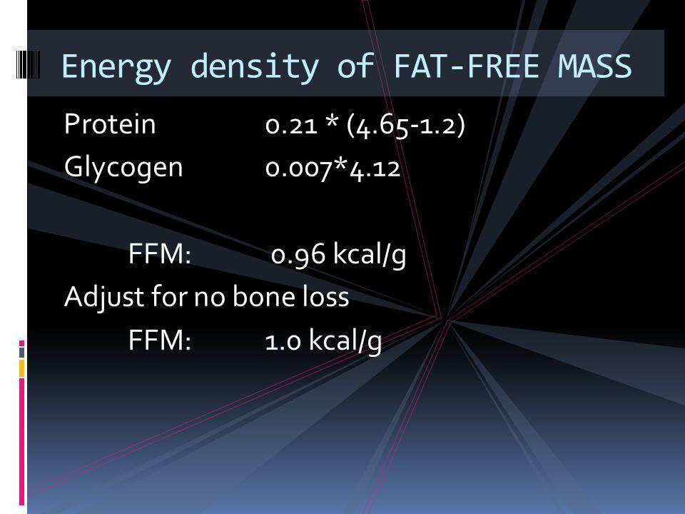 Energy density of FAT-FREE MASS