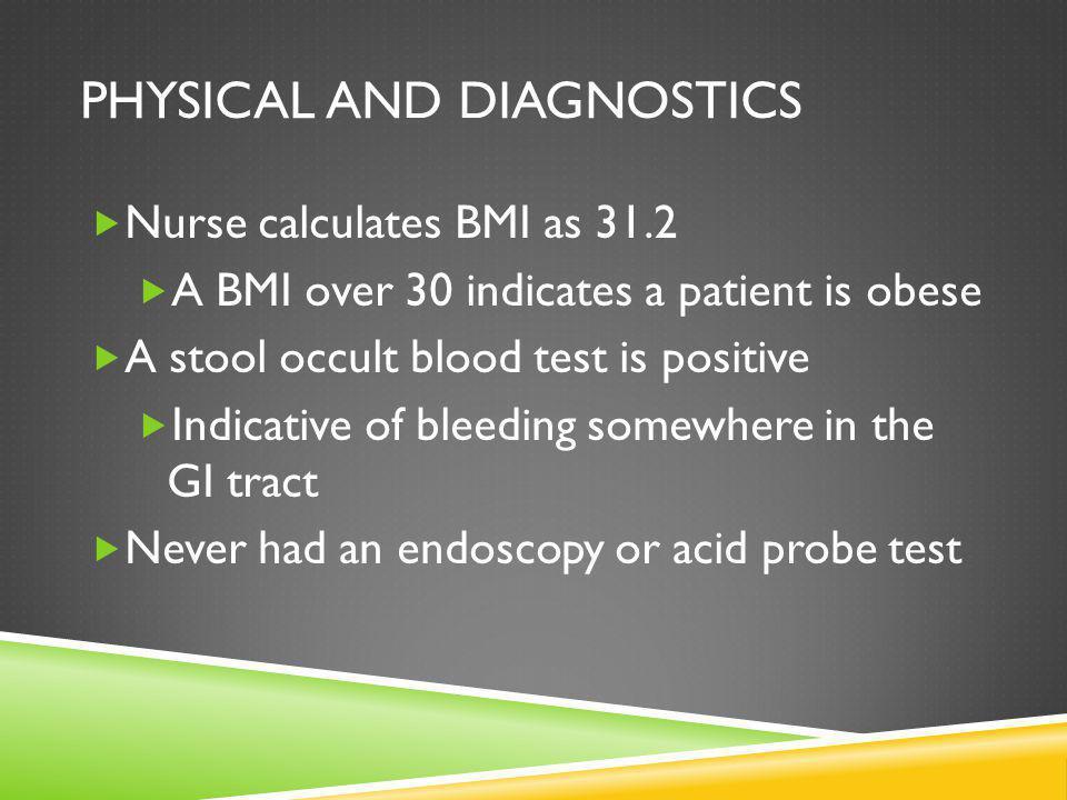 Physical and Diagnostics