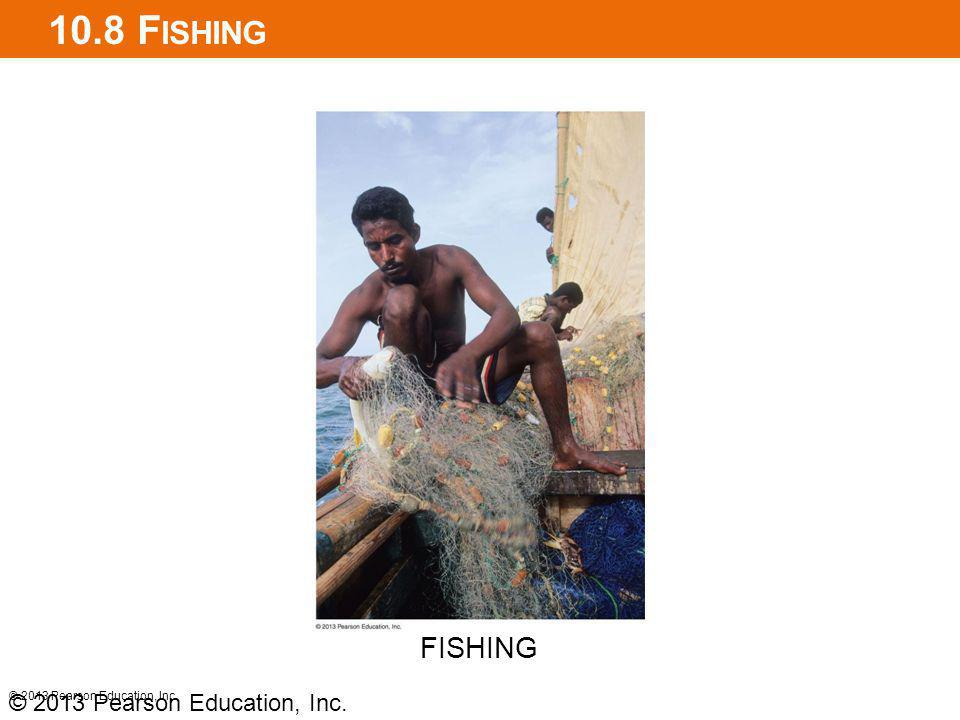 10.8 Fishing FISHING © 2013 Pearson Education, Inc.