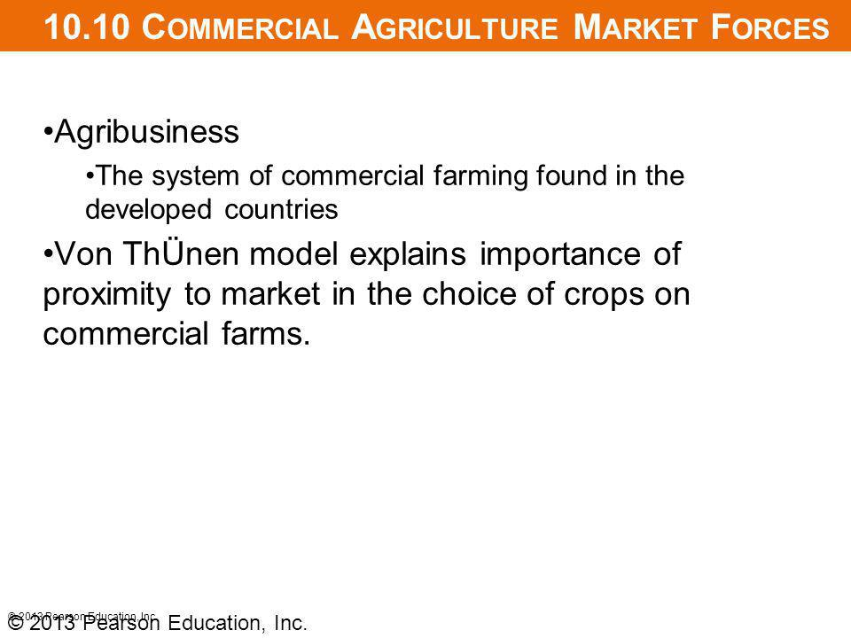 10.10 Commercial Agriculture Market Forces