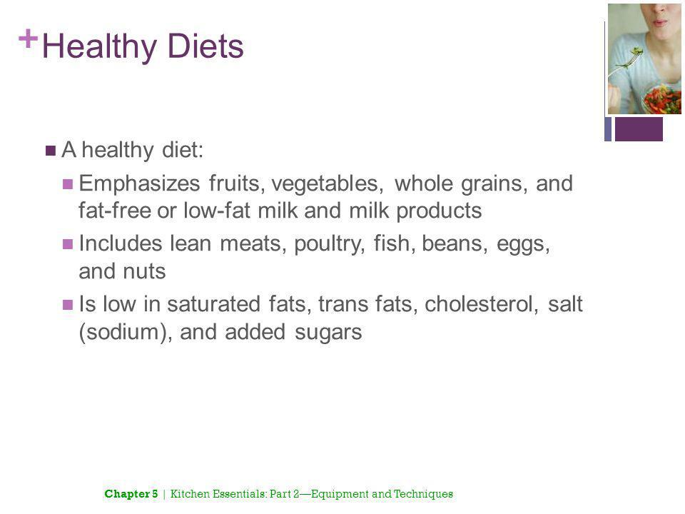 Healthy Diets A healthy diet: