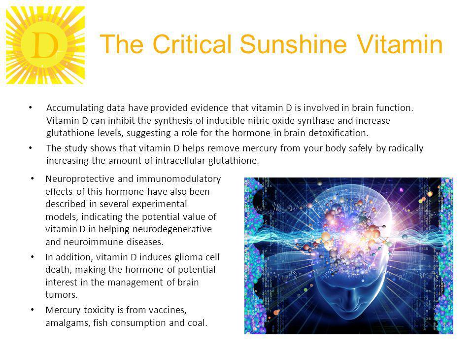 The Critical Sunshine Vitamin