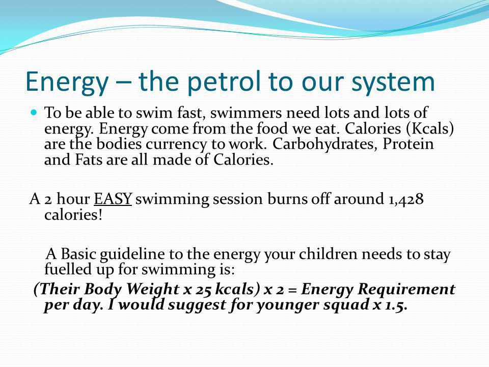 Energy – the petrol to our system