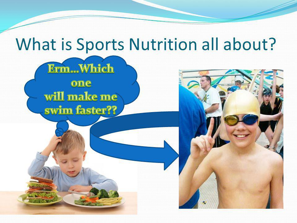 What is Sports Nutrition all about