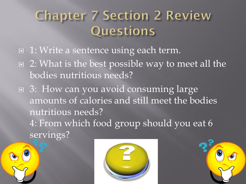Chapter 7 Section 2 Review Questions
