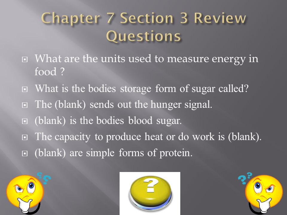 Chapter 7 Section 3 Review Questions