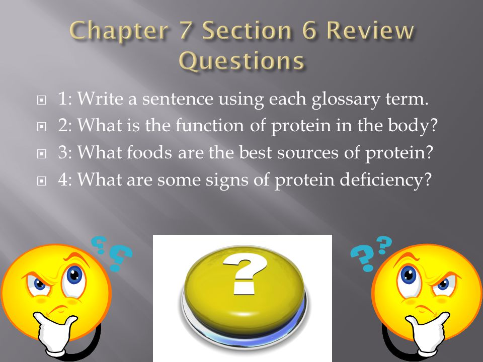 Chapter 7 Section 6 Review Questions