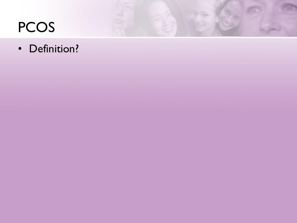 PCOS Definition
