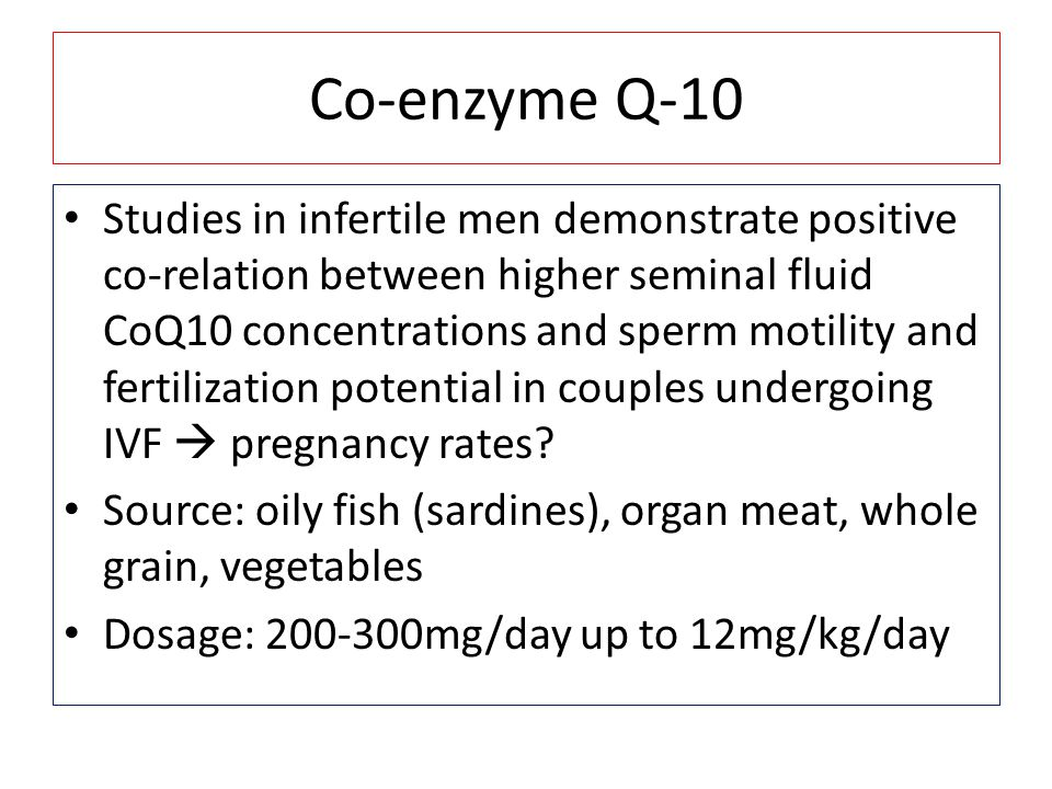 Co-enzyme Q-10