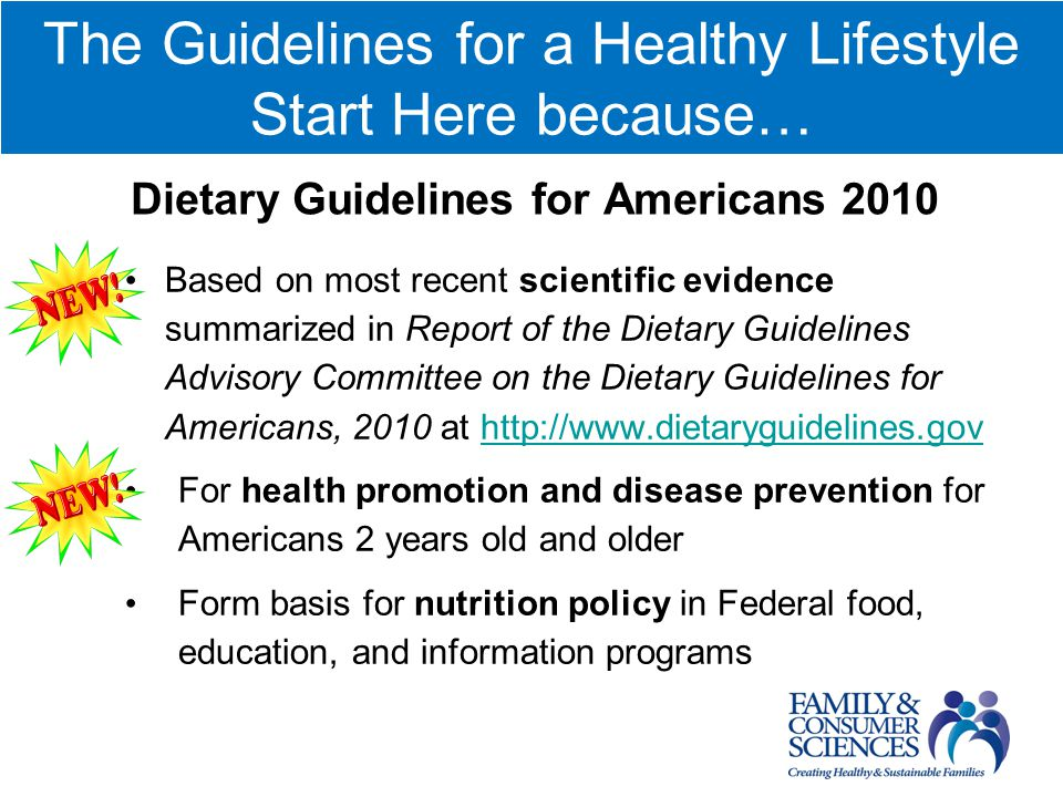 Call to Action: Sustaining FCS ED with Healthy Lifestyle: Obesity Prevention. Janet F. Laster, Ph.D.