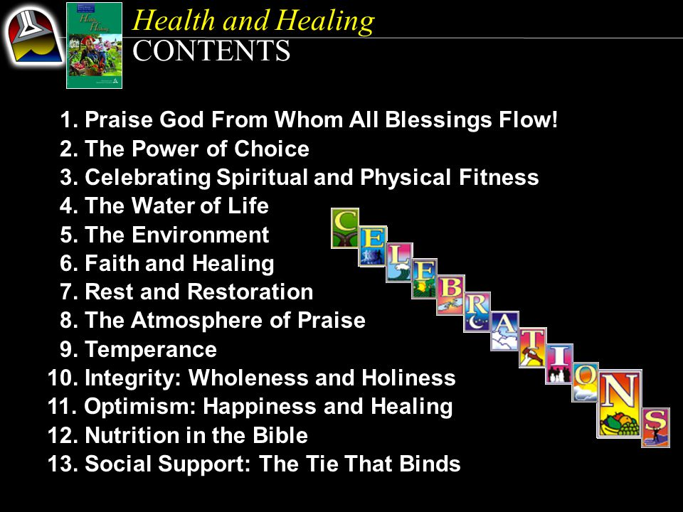 Health and Healing CONTENTS