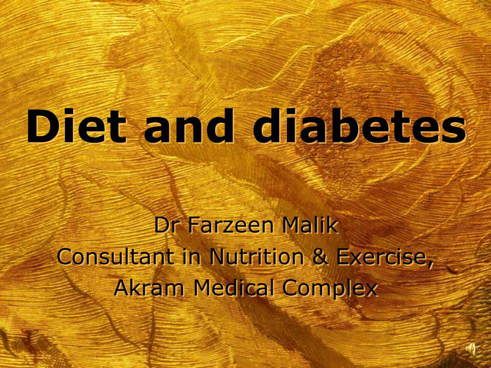 Consultant in Nutrition & Exercise,