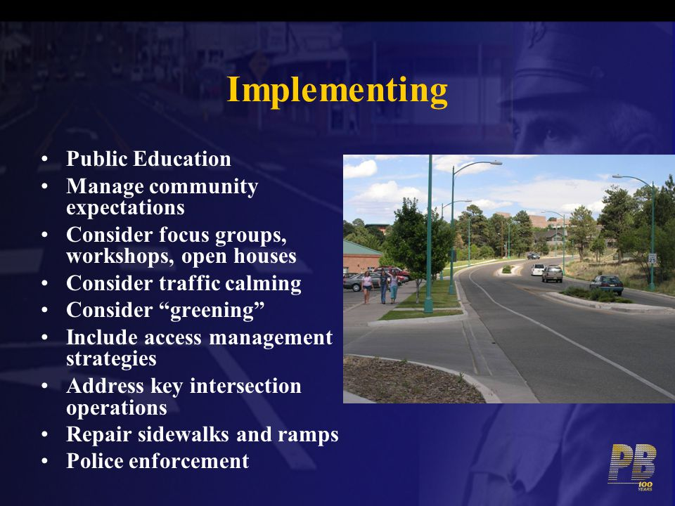 Implementing Public Education Manage community expectations