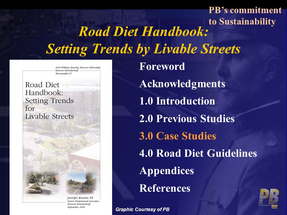 Road Diet Handbook: Setting Trends by Livable Streets