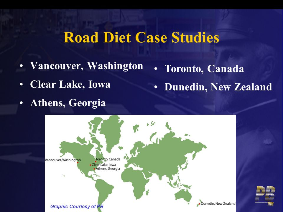 Road Diet Case Studies Vancouver, Washington Toronto, Canada