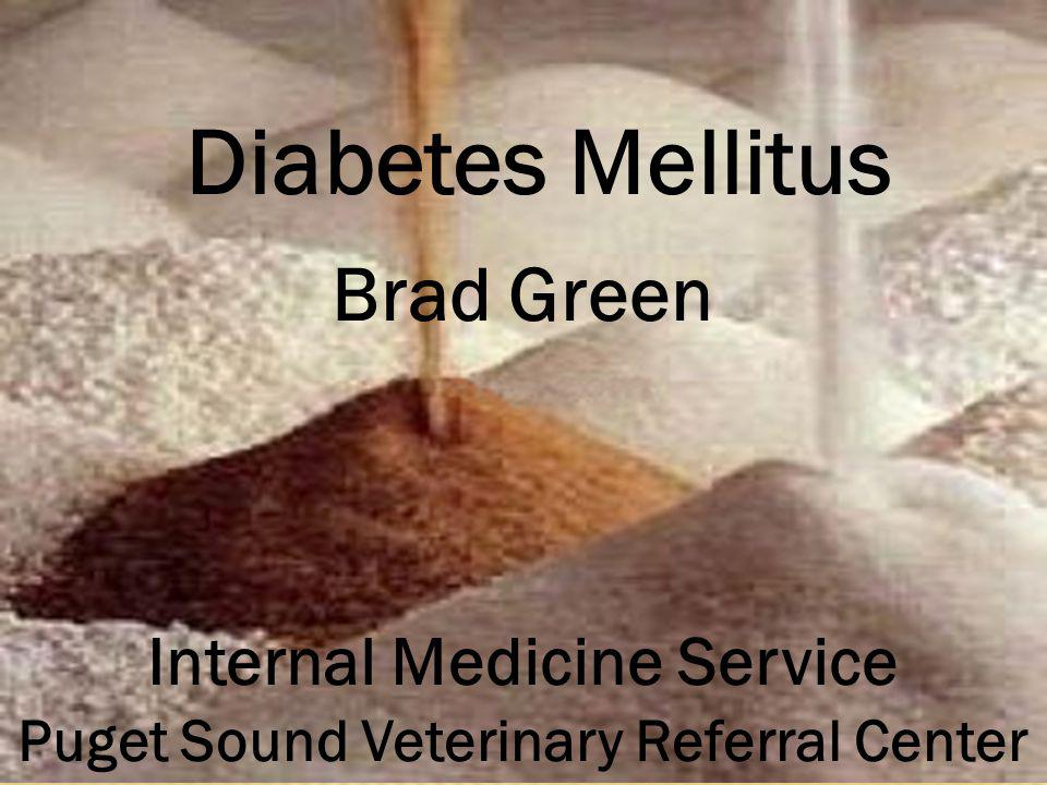 Internal Medicine Service Puget Sound Veterinary Referral Center