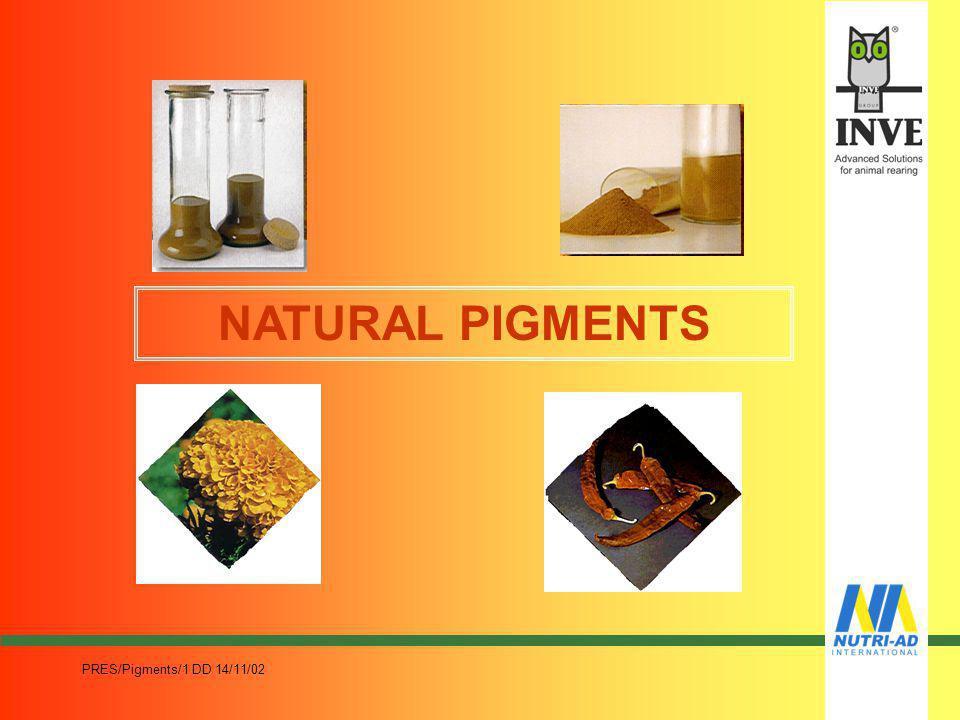 NATURAL PIGMENTS PRES/Pigments/1 DD 14/11/02