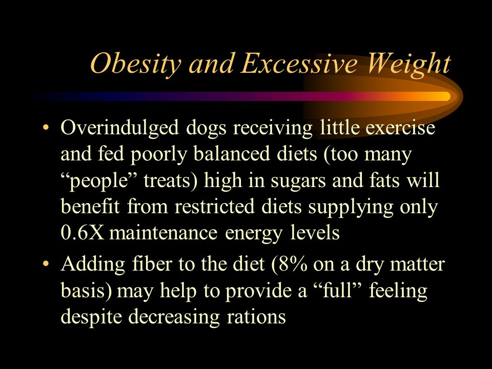 Obesity and Excessive Weight