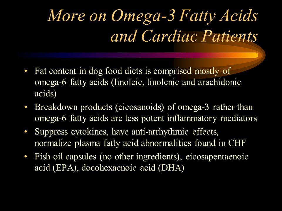 More on Omega-3 Fatty Acids and Cardiac Patients
