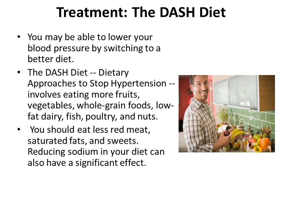 Treatment: The DASH Diet