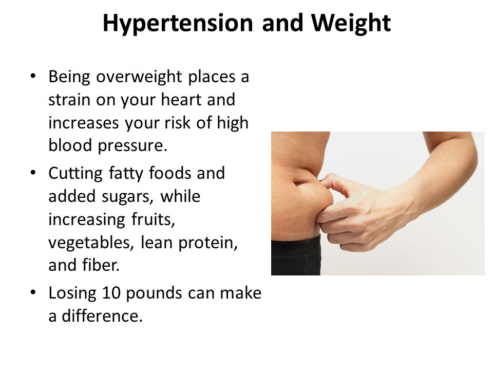Hypertension and Weight