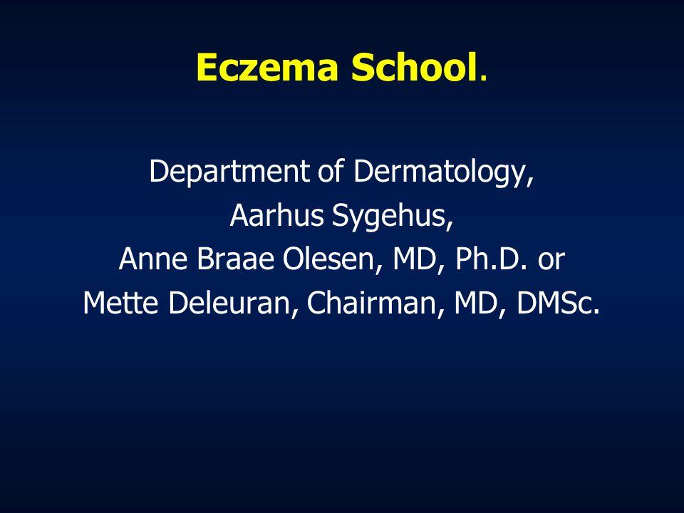 Eczema School. Department of Dermatology, Aarhus Sygehus,