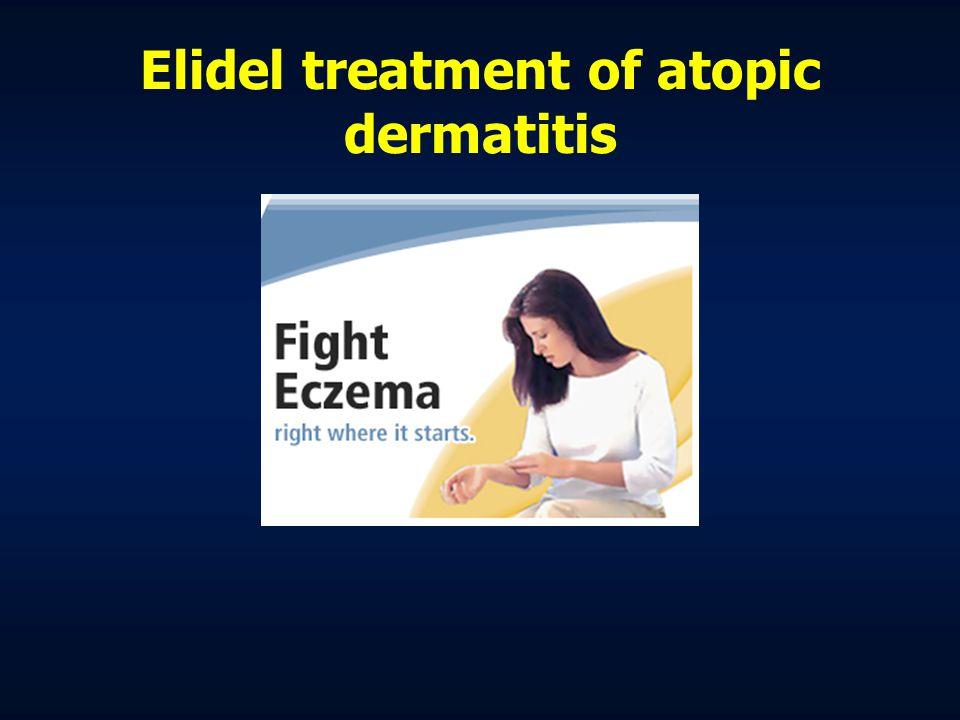 Elidel treatment of atopic dermatitis