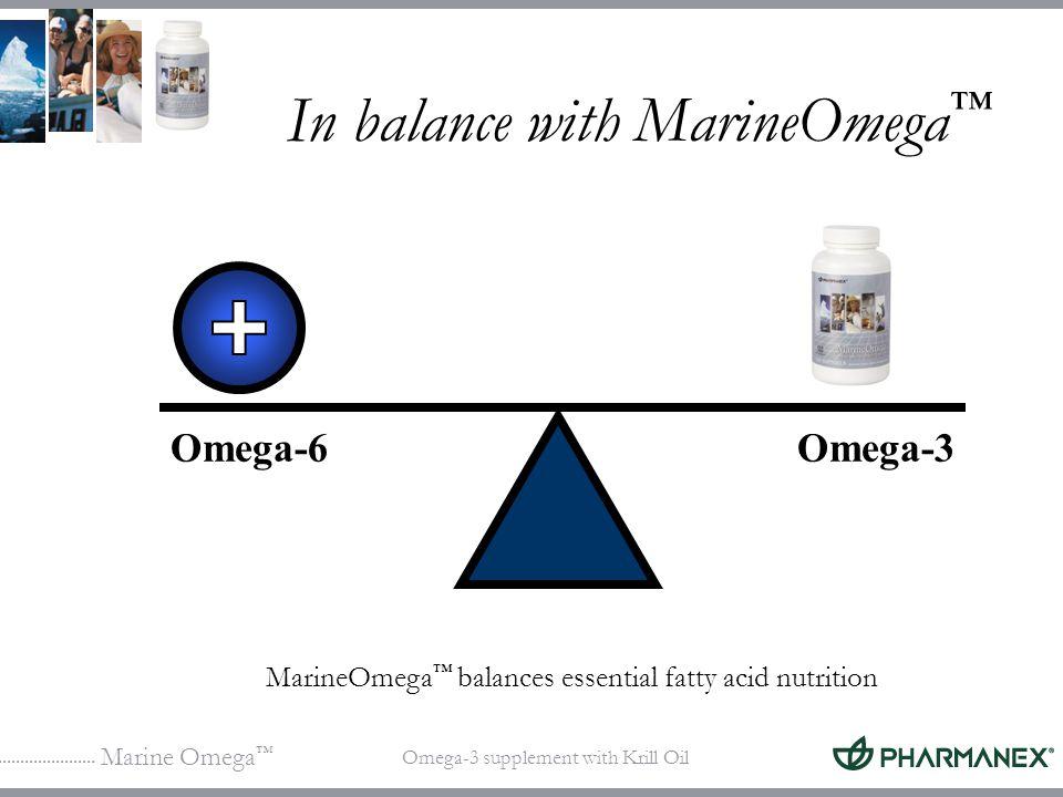 In balance with MarineOmega™