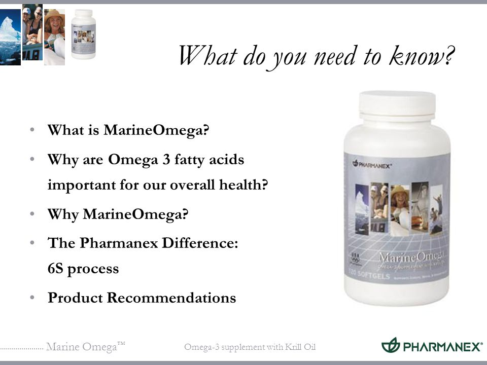 What do you need to know What is MarineOmega