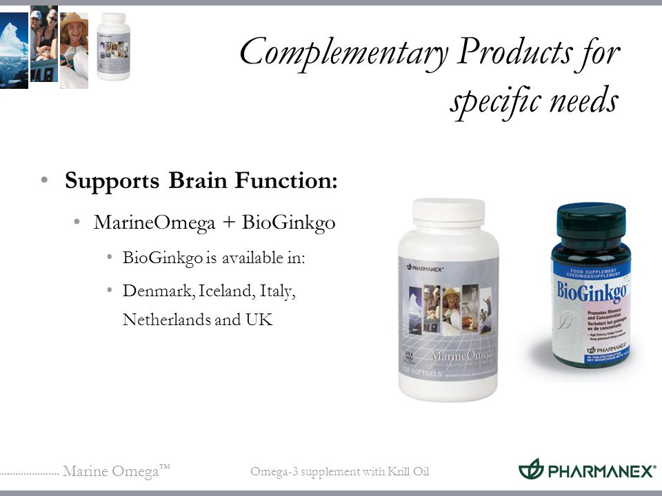 Complementary Products for specific needs
