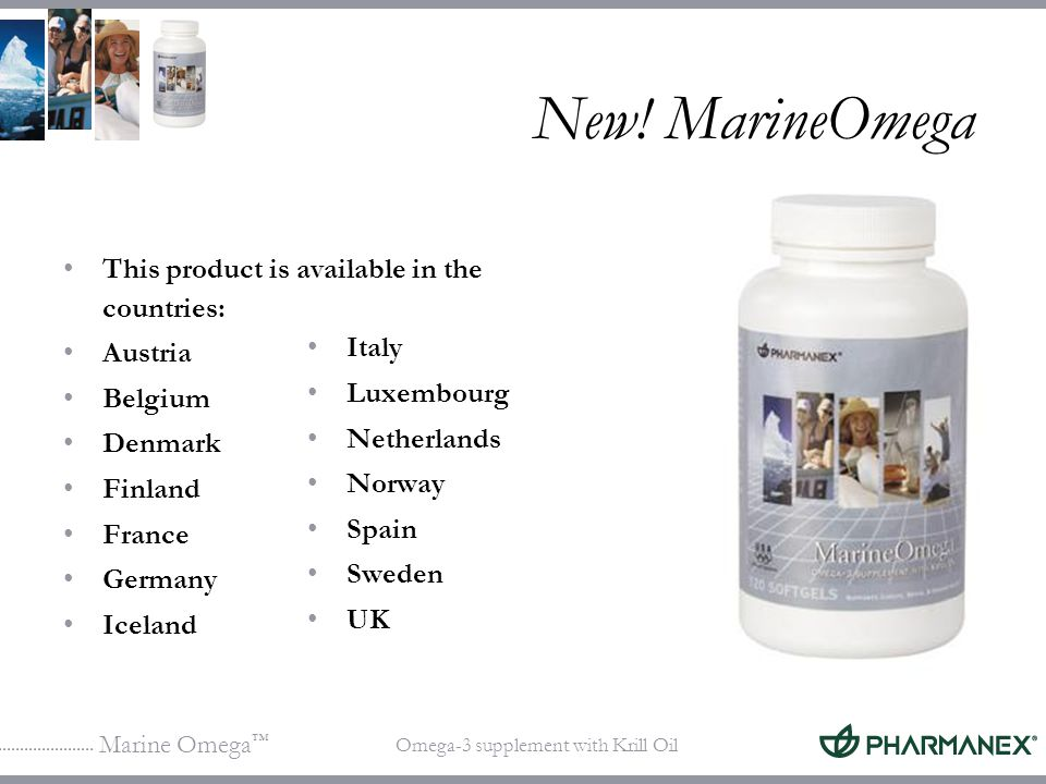 New! MarineOmega This product is available in the countries: Austria