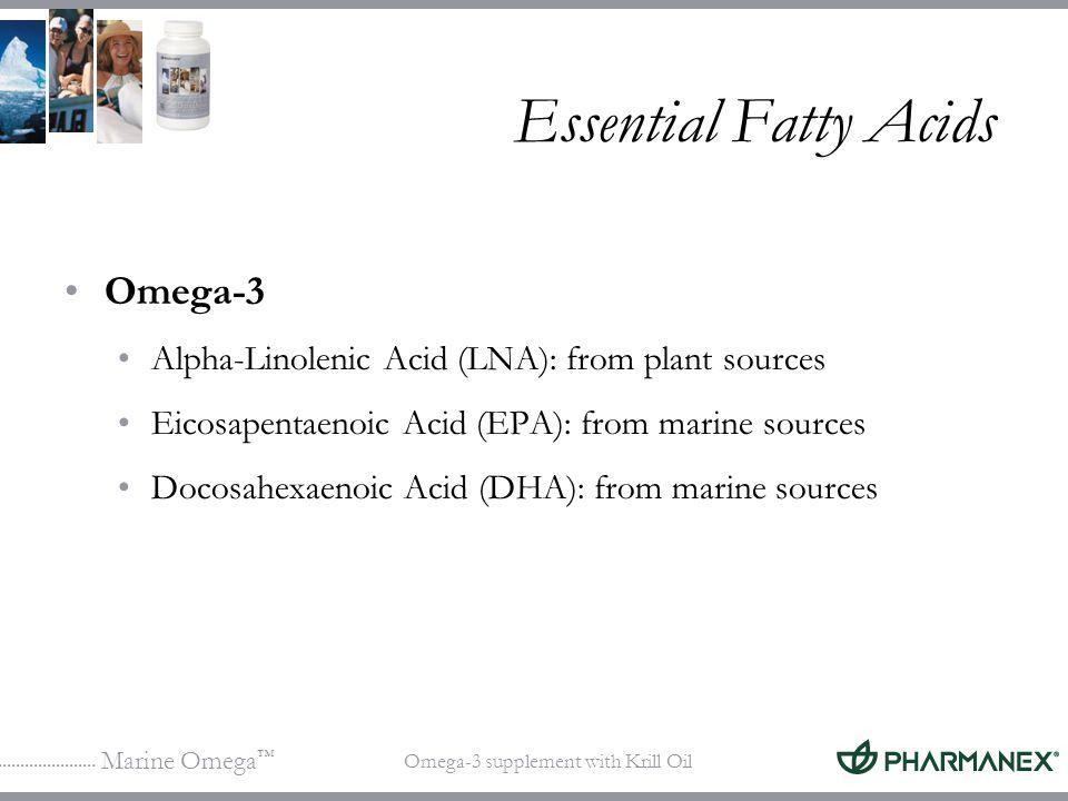 Essential Fatty Acids Omega-3