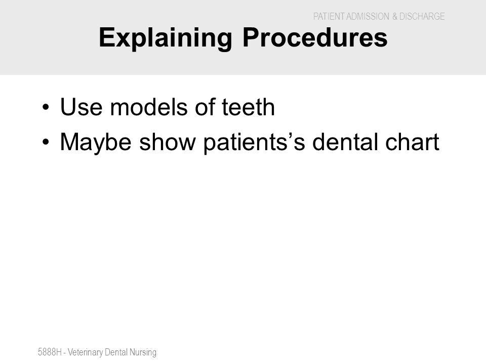 Explaining Procedures