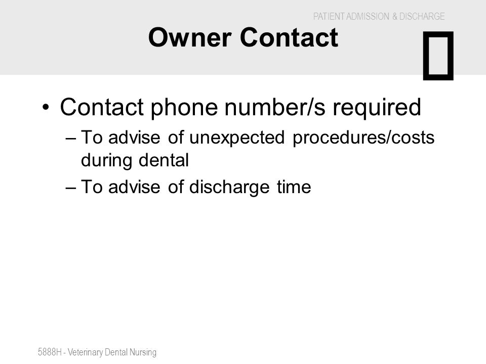 È Owner Contact Contact phone number/s required