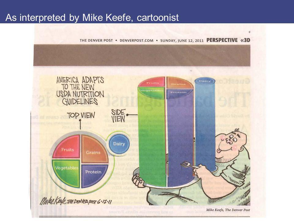 As interpreted by Mike Keefe, cartoonist