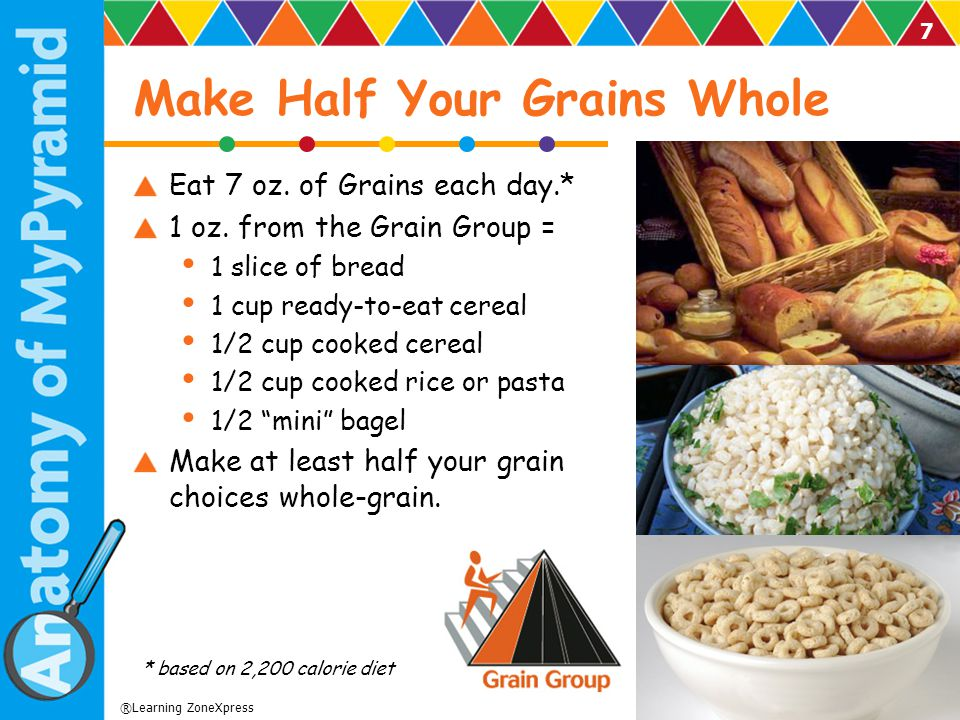 Make Half Your Grains Whole