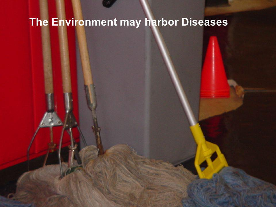 The Environment may harbor Diseases