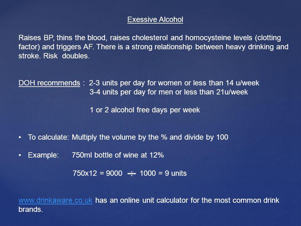 Exessive Alcohol