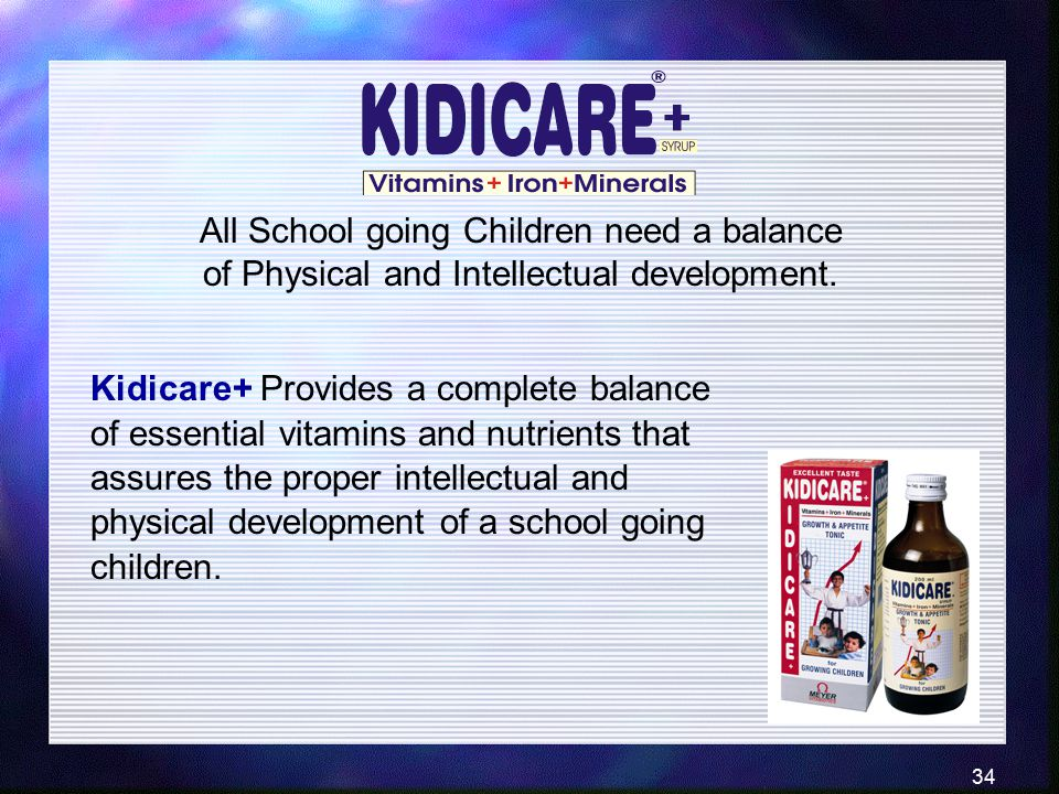 All School going Children need a balance of Physical and Intellectual development.