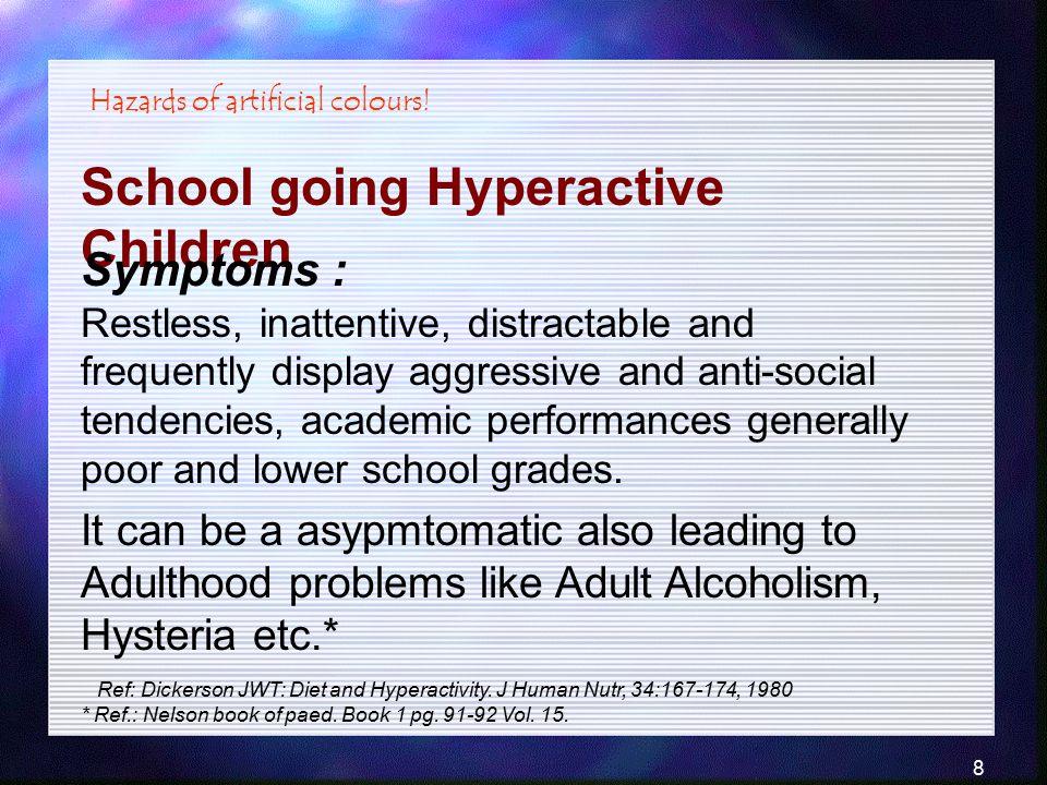 School going Hyperactive Children