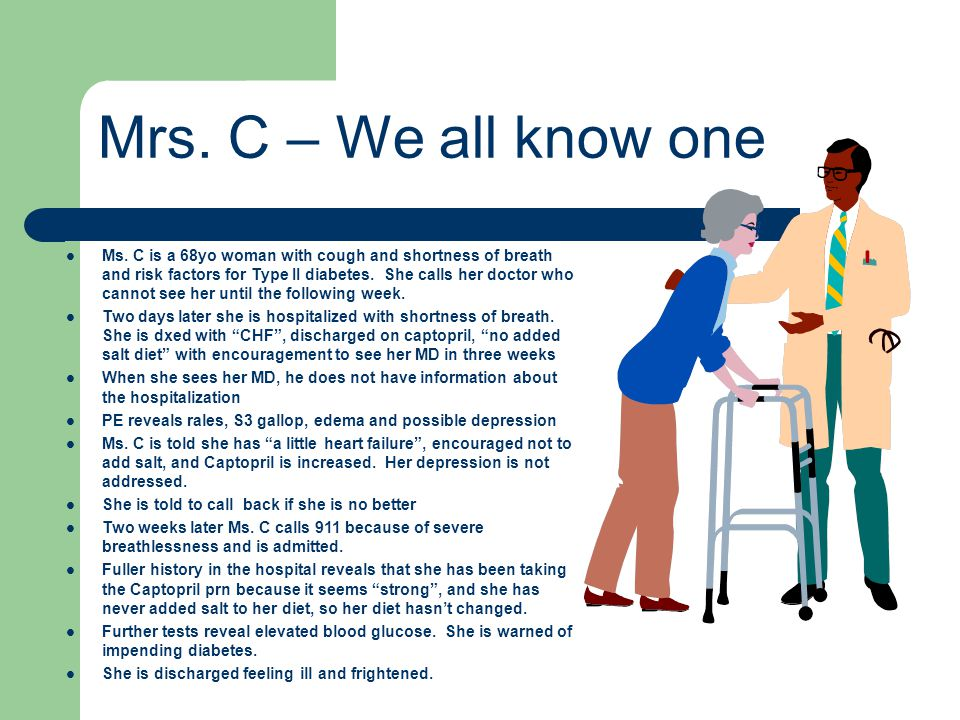 Mrs. C – We all know one
