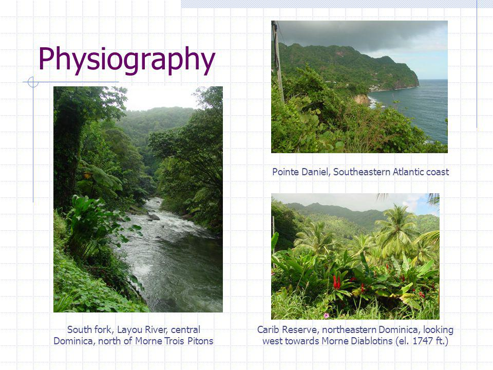 South fork, Layou River, central Dominica, north of Morne Trois Pitons