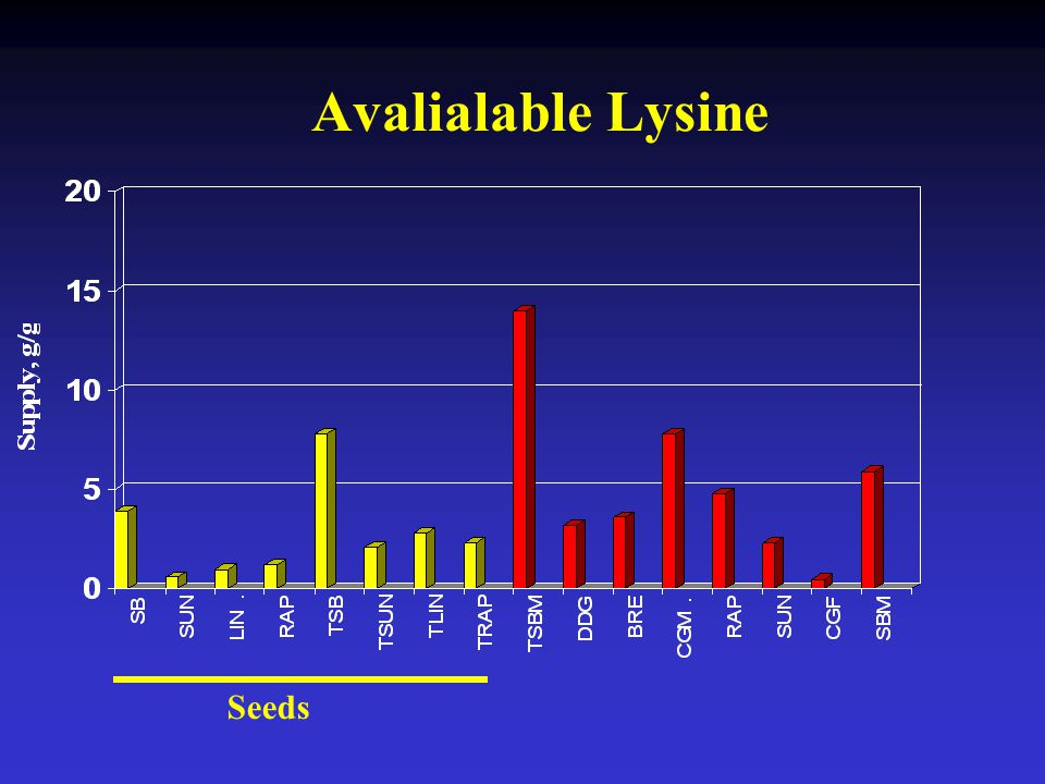 Avalialable Lysine Seeds