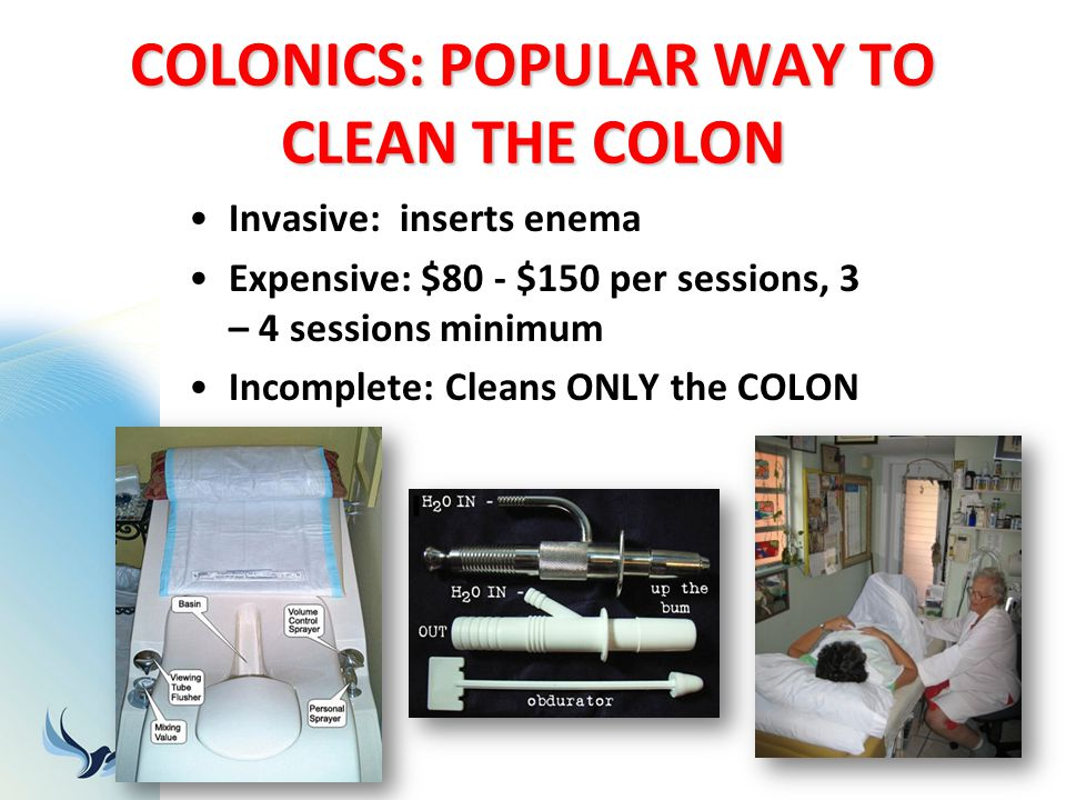 COLONICS: POPULAR WAY TO CLEAN THE COLON